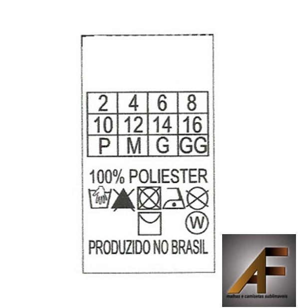 0270f408a06d ETIQUETAS COMPOSIÇÃO,SIMBOLOGIA E TAMANHOS ( 500 UNIDADES ) - AF ...